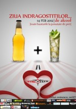 Ziua Îndrăgostiţilor… de alcool în Club Wings din Bucureşti