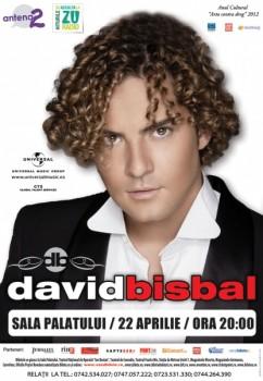Concert David Bisbal la Sala Palatului din Bucureşti