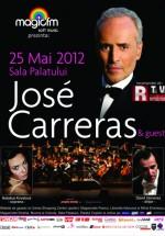 Concert Jose Carreras la Sala Palatului din Bucureşti