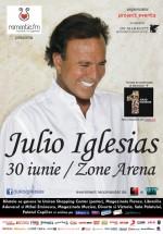 Concert Julio Iglesias la Zone Arena din Bucureşti