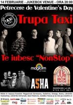 Concert Taxi de Valentine's Day în Jukebox Venue din Bucureşti