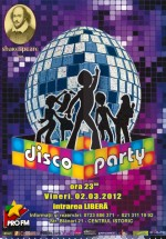 Disco Party în Shakespeare Bar din Bucureşti