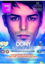 Concert Dony în Divino Lounge& Pub din Râmnicu-Vâlcea