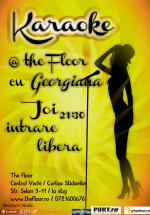 Karaoke Night cu Georgiana în Club The Floor din Bucureşti