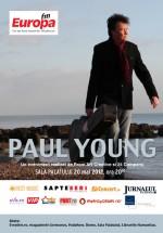 Concert Paul Young la Sala Palatului din Bucureşti – ANULAT