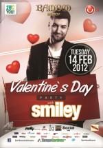 Concert Smiley în Club Bamboo din Braşov