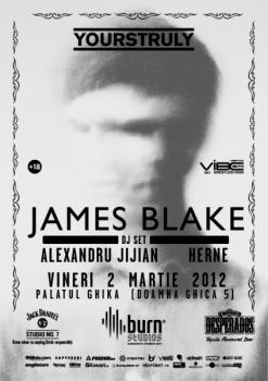 James Blake la Palatul Ghika din Bucureşti