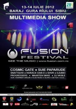 Fusion Festival 2012 la Baraj Gura Rîului Sibiu