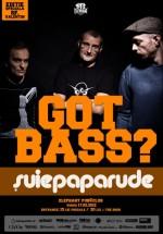 Got Bass? cu Şuie Paparude în Elephant Pub din Bucureşti