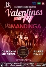 Concert Mandinga de Valentine's Day în Heaven Studio din Timişoara
