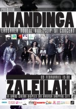 Concert Mandinga la Grand Cinema Digiplex din Băneasa Shopping City