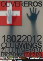 Concert Oliver în Club Wings din Bucureşti