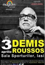Concert Demis Roussos la Sala Sporturilor din Iaşi – ANULAT