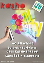 Zu Party la Kasho Club din Braşov