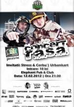 Concert R.A.S.A în Elephant Pub din Bucureşti