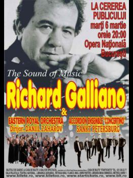 Concert Richard Galliano la Opera Naţională din Bucureşti – ANULAT