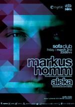 Markus Homm în Sofa Club din Braşov