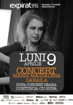 Concert Maria Magdalena Danila în Club Expirat din Bucureşti