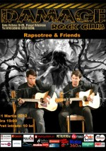 Concert Rapsotree în Club Damage din Bucureşti