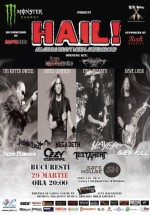 Concert HAIL! în Safe House din Bucureşti