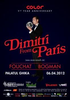 Dimitri from Paris la Palatul Ghika din Bucureşti