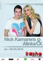 Nick Kamarera şi Alinka în Kasho Club din Braşov