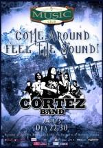 Concert Cortez în Music Club din Bucureşti