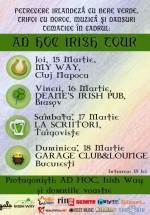Ad Hoc Irish Tour în România