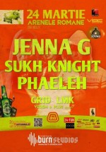 Jenna G, Sukh Knight şi Phaeleh la Arenele Romane din Bucureşti