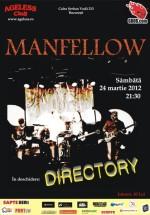 Concert Manfellow în Ageless Club din Bucureşti
