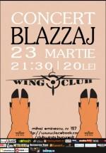 Concert Blazzaj în Wings Club din Bucureşti