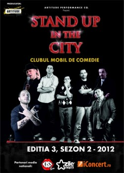 Turneu Stand up in the City – Ediţia 3  – Sezonul 2
