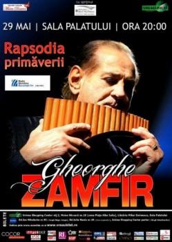 Concert Gheorghe Zamfir la Bucureşti