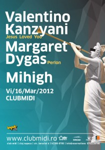 Valentino Kanzyani în Club Midi din Cluj-Napoca