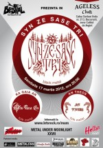 Concert Syn Ze Sase Tri, Ka Gaia An şi An Theos în Ageless Club din Bucureşti