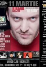 Concert Bibanu MixXL în Wings Club din Bucureşti