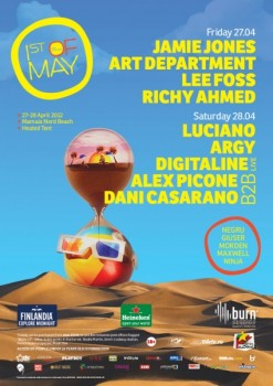 The Mission 1st of May 2012 la Mamaia