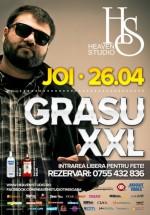 Concert Grasu XXL în Heaven Studio din Timişoara