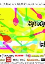"""Concert Sarmalele Reci lansare album """"Haos.ro"""" în Hard Rock Cafe Bucureşti"""