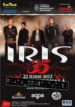 Concert Iris în Piața Constituţiei din Bucureşti