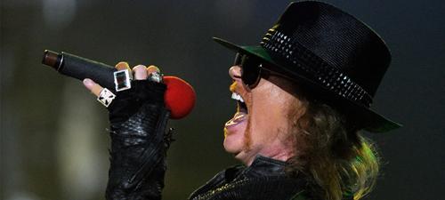 Guns N' Roses va susţine un recital de peste 2 ore la Rock the City 2012