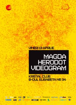 Magda & Herodot în Kristal Club din Bucureşti