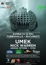 Ministry of Sound la Turbohalle din Bucureşti