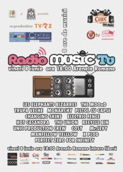 Radio Music TV la Arenele Romane din Bucureşti