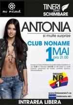 Concert Antonia în Club No Name din Timişoara