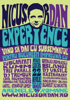 Concert pentru Nicuşor Dan la Arenele Romane din Bucureşti