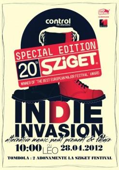 Sziget Festival 2012 Official Party în Club Control din Bucureşti