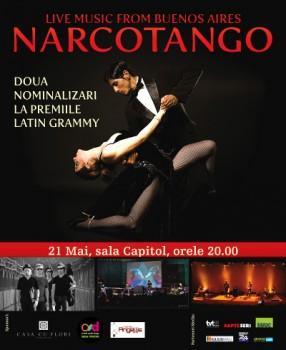 Concert Narcotango la Filarmonica Banatul din Timişoara
