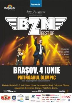 Concert BZN la Patinoarul Olimpic din Braşov
