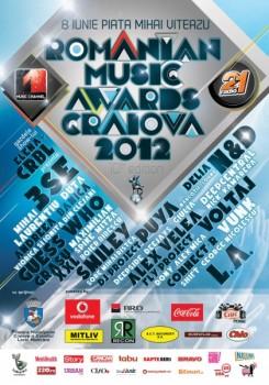 Romanian Music Awards 2012 la Craiova